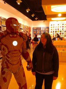 TC meets Iron Man